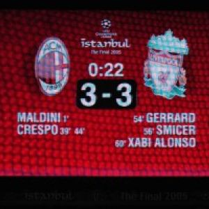 European Football   UEFA Champions League Final   Liverpool V AC Milan